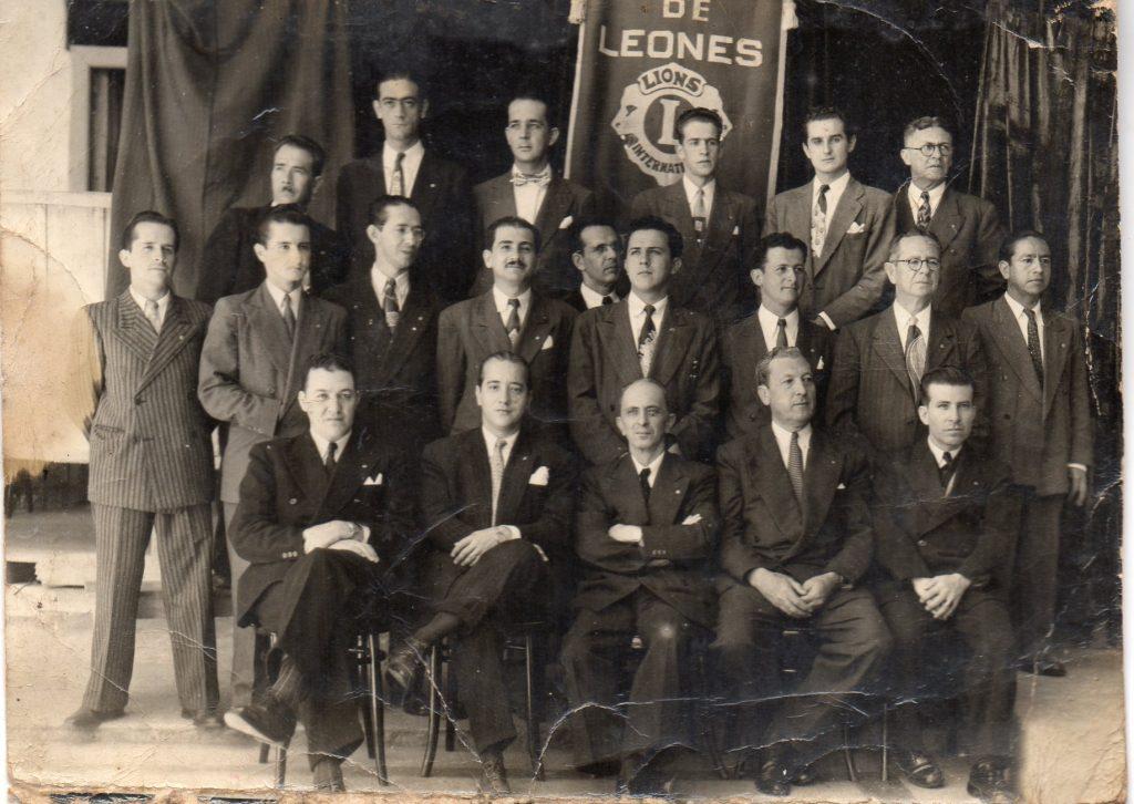 Fundadores Club de leones Monarca